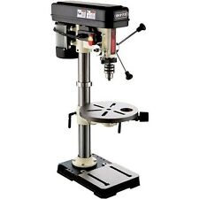 "Shop Fox 13 x 3/4 HP Oscillating Bench Top Drill Press 5/8"" Chuck W1668 New"
