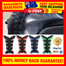 Coloured 3D Motorcycle Racing Design Tank Protector Fuel Tank Sticker Decal