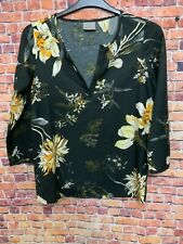 Vero moda beautiful tunic blouse top ladies size small 8-10