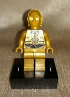 Genuine LEGO Star Wars C-3PO Droid Minifig Colorful Wires Minifigure 9490