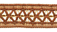 "Copper , Bronze, Beige 1/5"" Gimp Braid Trim English Toffee [6 Yards]"
