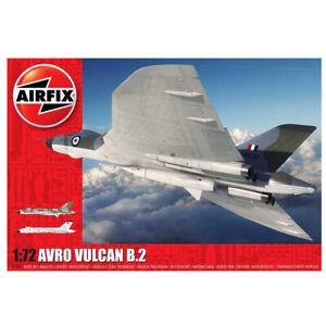 Airfix Avro Vulcan B.2 Bomber Plastic Model Kit Scale 1:72 XM594, XM602 Schemes