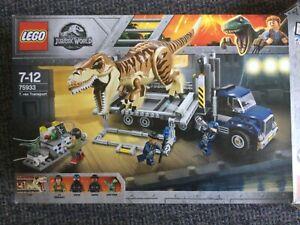 LEGO Jurassic World T. rex Transport 75933 used