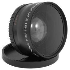 Neu 0.45x Weitwinkel Vorsatz 58mm Makro Objektive für Kamera