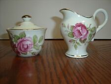 Royal Stuart Bone China Spencer Stevenson Of England Cream Pitcher & Sugar Bowl