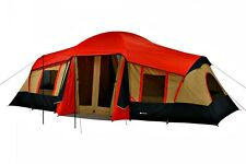 10-Person 3-Room Vacation Tent with Awning