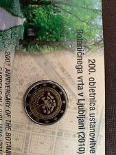 2 euro be Slovenie 2010, tirage limité