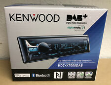KENWOOD KDC-X7000DAB CAR CD USB sintonizzatore radio stereo DAB Testa iPHONE Bluetooth