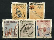 Albania 1963 SG#754-8 Olympic Games Cto Used Set #A41104