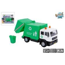 Kids Globe 510705 Müllwagen LKW Müllauto Auto Lastkraftswagen Laster Licht Sound