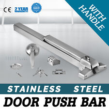 DOOR PUSH BAR PANIC EXIT DEVICE WITH HANDLE HEAVY DUTY HARDWARE LATCHES POPULAR