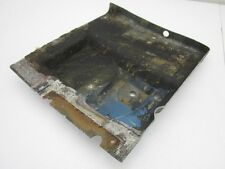 Corvette Original Driver Side LH Black Fiberglass Rear Floor Pan Underseat 1974