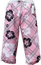 Bermuda señores señora bañador cargo badeshorts rosa pink en XL