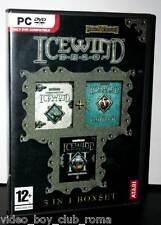 ICEWIND DALE 3 IN 1 BOXSET GIOCO USATO OTTIMO STATO PC ED. ITALIANA FR1 30423