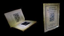[ALSACE - BAS-RHIN - STRASBOURG] Archives alsaciennes d'histoire de l'art 1922.