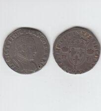 Charles IX  au nom d' Henri II (1560-1574)  Teston  argent 1561  Bayonne