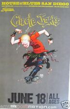 CIRCLE JERKS 2009 SAN DIEGO CONCERT TOUR POSTER - Punk Rock Music