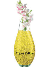 Crystal Accents Topaz 30g Pack - Yellow Decorative Water Storing Gel