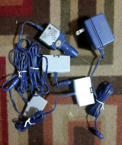 Gamestar Gameboy Advance With 3 Gamester Batterie Packs And AC-DC Adapter Purple