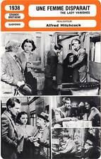 FICHE CINEMA : UNE FEMME DISPARAIT - Lockwood,Hitchcock 1938 The Lady Vanishes
