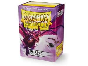 Classic Purple 100 ct Dragon Shield Sleeves Standard FREE SHIPPING! 10% OFF 2+