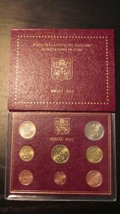 Coffret BU 8 pièces Euros Vatican 2021 Neuf