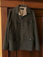 The Cockpit WW1 Military Wool Jacket (green) Map Lined Size 40 or Medium