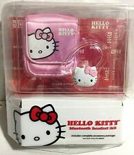 Hello Kitty KT4700 Bluetooth Headset Kit with Accessory Package Sealed NEW!