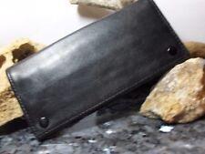 Exklusiver Tabakbeutel Tabaktasche - Echt Leder schwarz Top Qualität