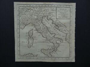 1783 Atlas Robert de VAUGONDY  map  ITALY - ITALIE - ITALIA