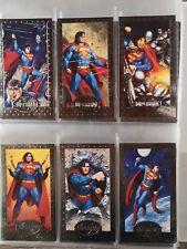 Superman the Man of Steel Platinum Series Premium Skybox 1994 set of 90+inserts!