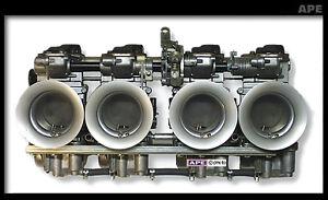 Kawasaki GPZ1100 1981-88' Mikuni 36mm RS Flatslide Carbs