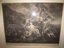 Le Triomphe de Galathée, gravé par Jean-Charles Le Vasseur  trionfo di Galatea