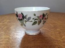 Wedgwood Hathaway Rose bone china large open footed sugar bowl R4317