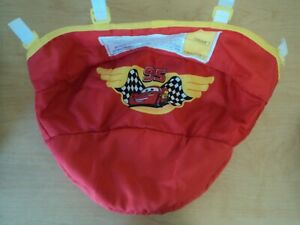 Safety 1st Disney Cars Lightning McQueen Baby Walker Replacement Seat Cover VGUC