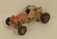 """2006 4"""" Action Figure Dune Buggy 6.5"""" Vehicle Sigma 6 Hasbro G.I. Joe & Cobra"""