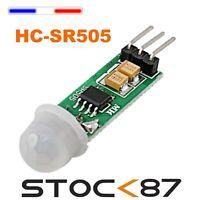 5045# 1 à 10 pcs Module mini capteur de mouvement infrarouge PIR HC SR505