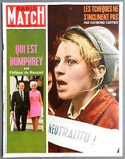 ►PM 1009-1968-BRIGITTE BARDOT & ERIC TABARLY- HARALD & SONIA NORVEGE- NAVIPLANE