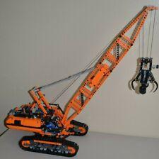 LEGO TECHNIC CUSTOM ORANGE 42042 CRAWLER CRANE w/POWER FUNCTIONS 8881/88003