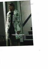 PUBLICITE ADVERTISING 025  2014  YVES SALOMON  boutique fourrure