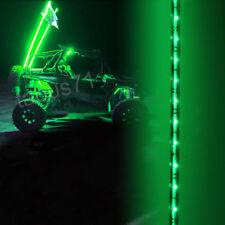 POLARIS RZR XP 900 1000 Ranger 570 Sportsman ATV 6ft Green LED Whip Light Flag