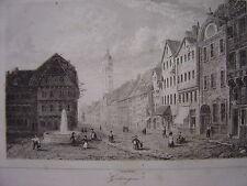 Gravure de GOTTINGUE Göttingen