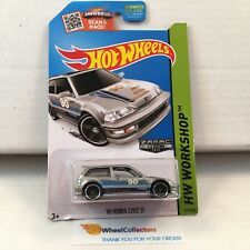 #7  '90 Honda Civic EF #197 * ZAMAC * 2015 Hot Wheels * L23