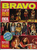 BRAVO Nr.51 vom 13.12.1972 mit Riesenposter Neil Diamond, David Bowie, Manuela..