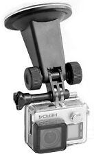 Für GoPro Hero 7 6 5 4 Actioncam Auto KFZ Scheiben Saugnapf Halterung Halter