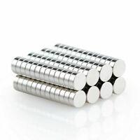 100X 6X2 mm Neodymium Disc   Rare Earth N50 Fridge Magnets Cylinder Set cSjrfN