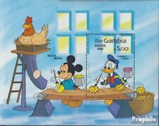 Gambia block9 (complete issue) unmounted mint / never hinged 1984 Walt-Disney-Fi