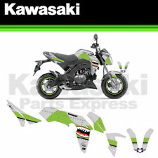 NEW KAWASAKI Z-125 Z125 PRO GREEN BOMBER COMPLETE GRAPHICS KIT BY D'COR