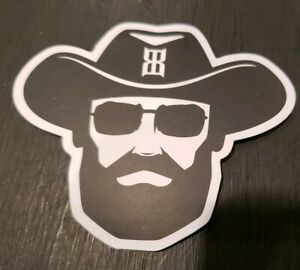 Bex 2.5x3 Short Beard Logo Decal Sticker Vinyl Cling Brand New Free Shipping