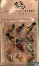 Miniature Birds perfect for Joykick Fairy Gardens, Birdhouses, And Dollhouse